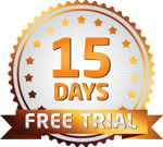 All plans have a 15 day free trial